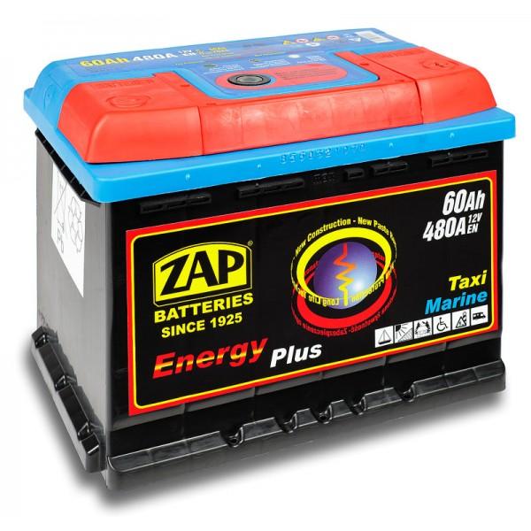 ZAP 956 07 Energy Plus 60 Ah 480 A O(- +) 242x175x190