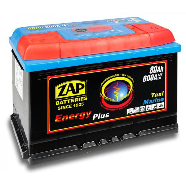 ZAP 958 07 Energy Plus 80 Ah 600 A O(- +) 275x175x190