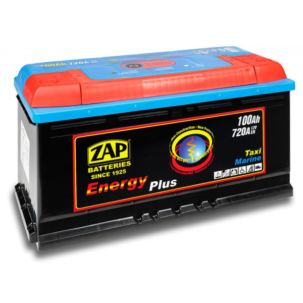 ZAP 960 07 Energy Plus 100 Ah 720 A O(- +) 350x175x190